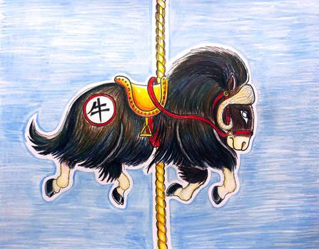Niu the Chinese Zodiac Ox