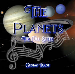 The Planets Album Cover Design