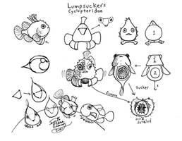 Draw Lumpsuckers