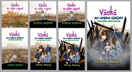 Vicki Book Cover Design Process
