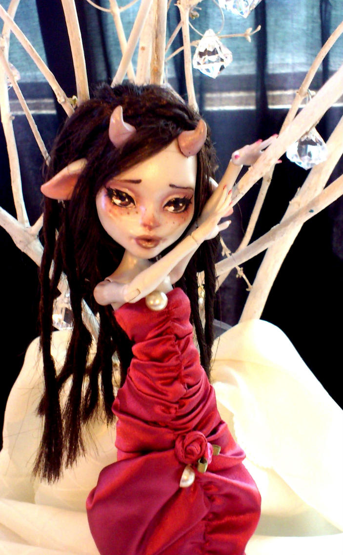 Tora Custom MH Doll by ButterflyInDisguise