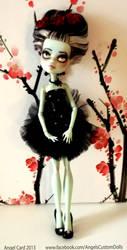 Frankie Ballerina Custom Doll by ButterflyInDisguise