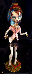 Ghoulia Yelps Custom Zombie by ButterflyInDisguise
