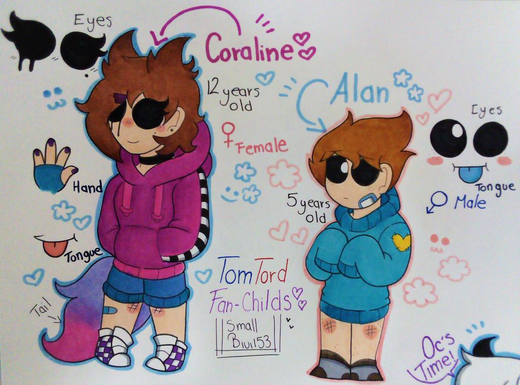 Coraline And Alan Family Au Oc By Smallbivi153 On Deviantart