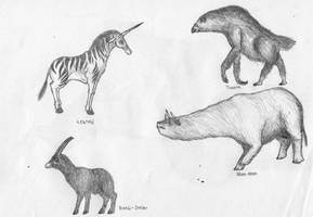Mammals by Cephlaken