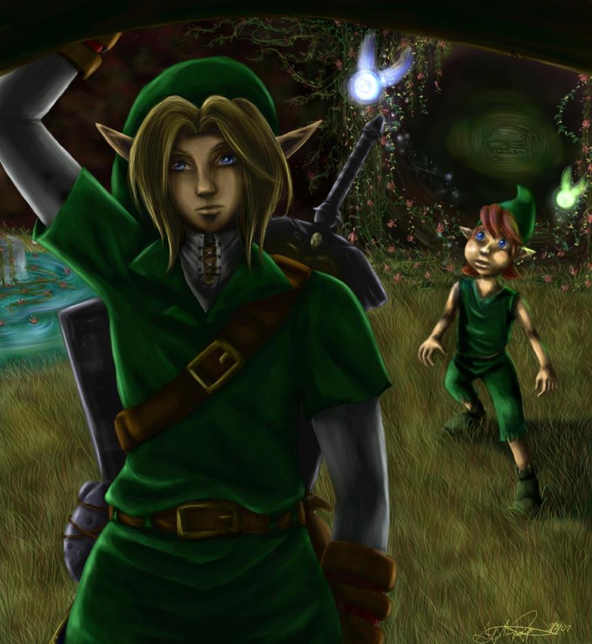 Zelda:OoT - Nostalgia by bishoujosteph