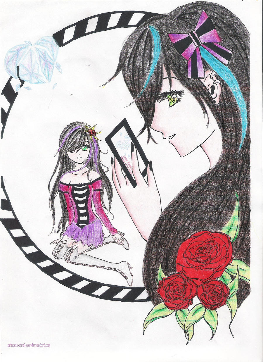 Emo n 39 rose by princess cirp4ever on deviantart - Emo rose pictures ...