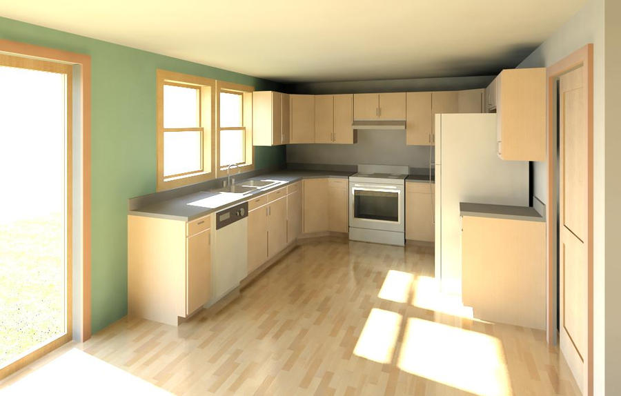 Revit Kitchen Render By The Doommaster On Deviantart