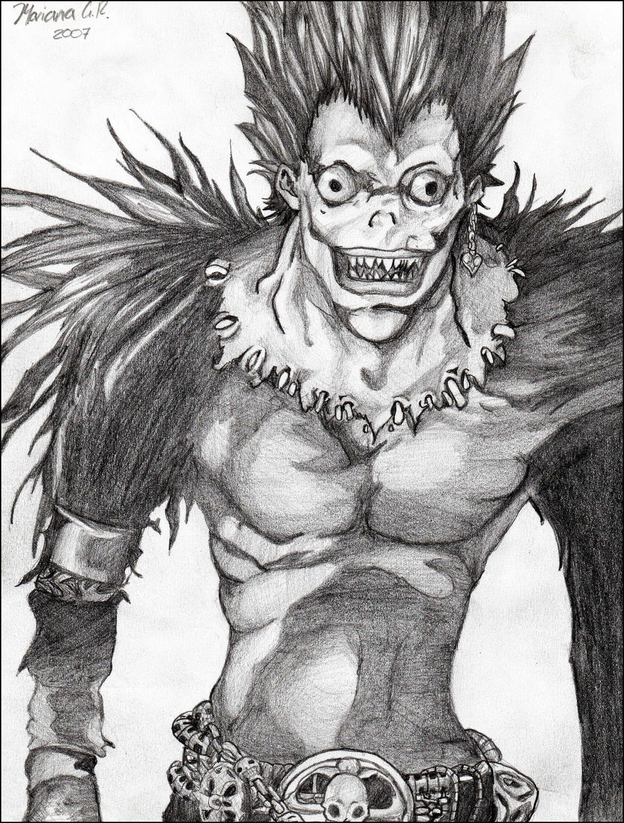 Death Note Ryuk Drawings