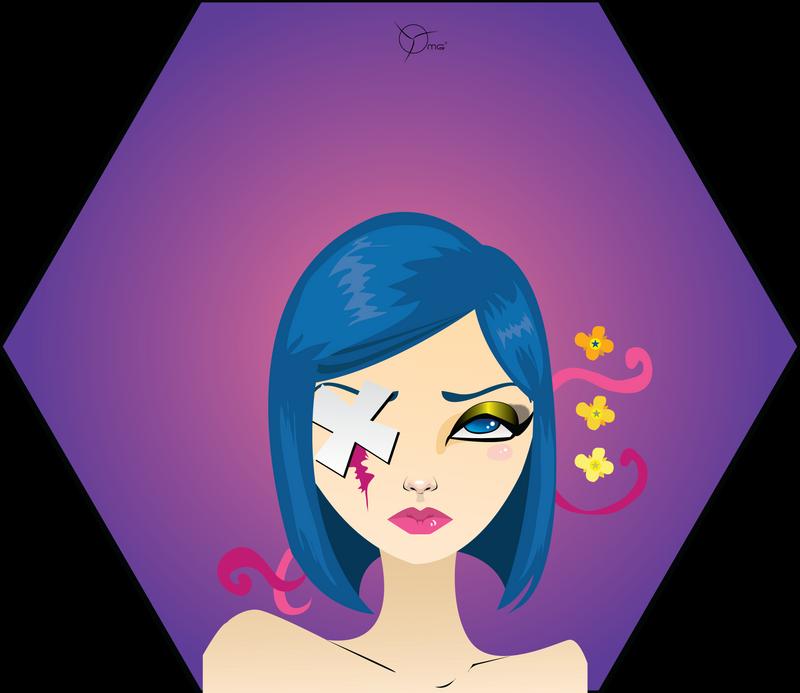 Patchie: Alice by Myrinihanna