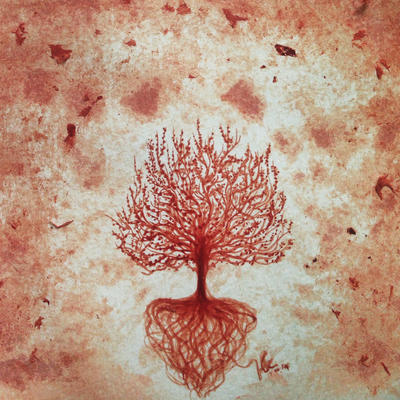 Fertil (bloodpaint) by Myrinihanna