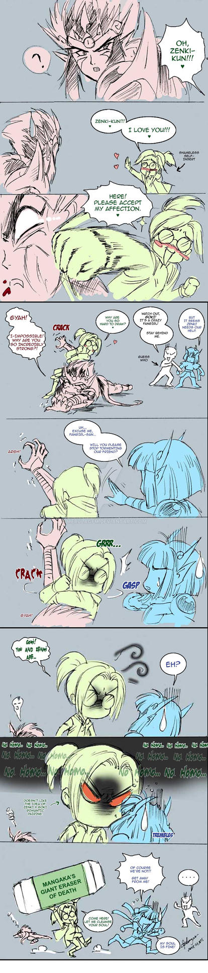Zenki Crack Fancomic: Tough Love by MerulaGFM