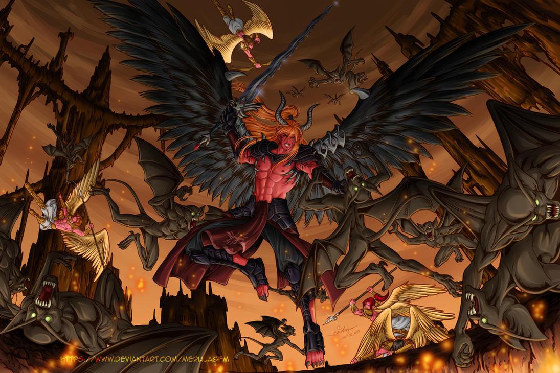 Commission: Malphas Caleb by MerulaGFM