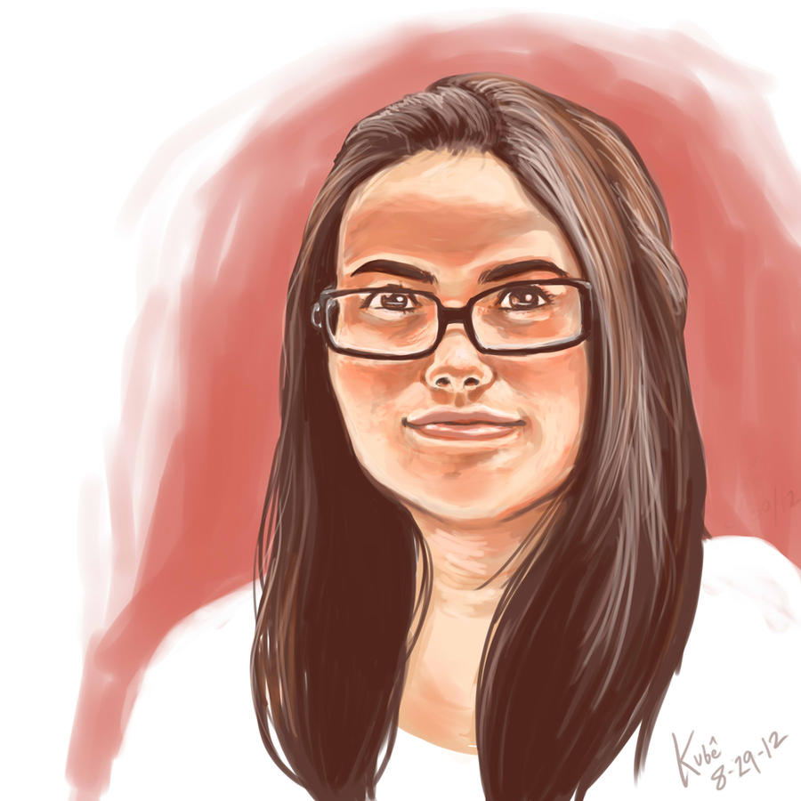 Yardeh portrait by sprukununuy