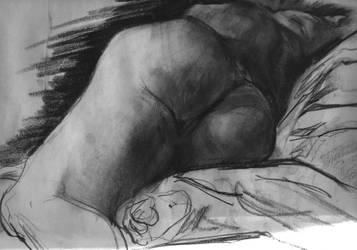 Figure drawing by mikemorrocco