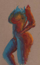 figure painting 1 by mikemorrocco