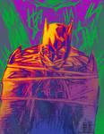 Batman caught