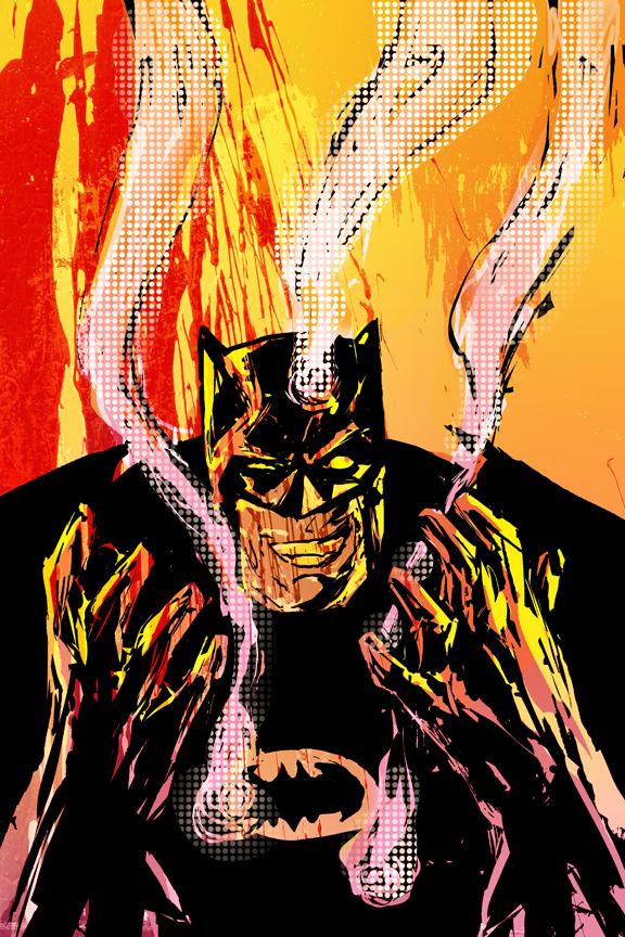 Batman! by mikemorrocco