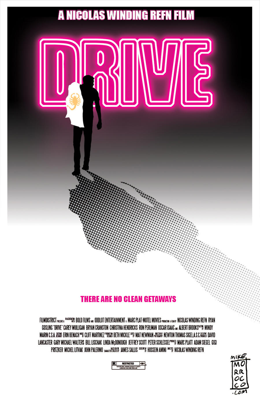 DRIVE poster by mikemorrocco