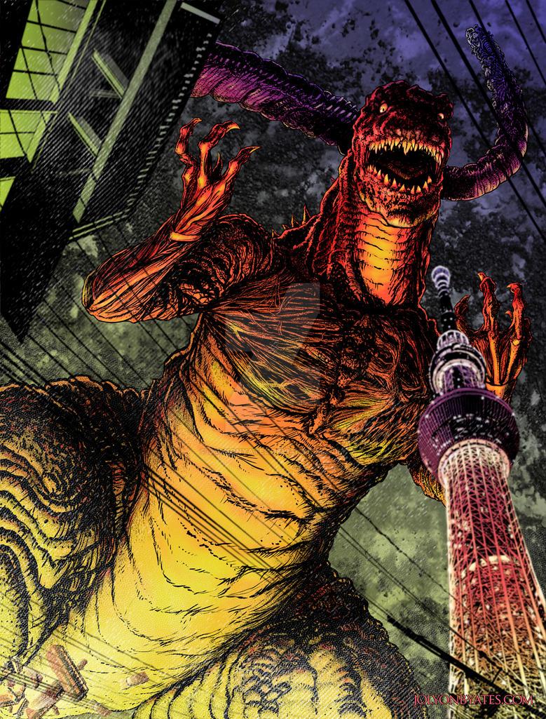 Shin Godzilla by JolyonYates