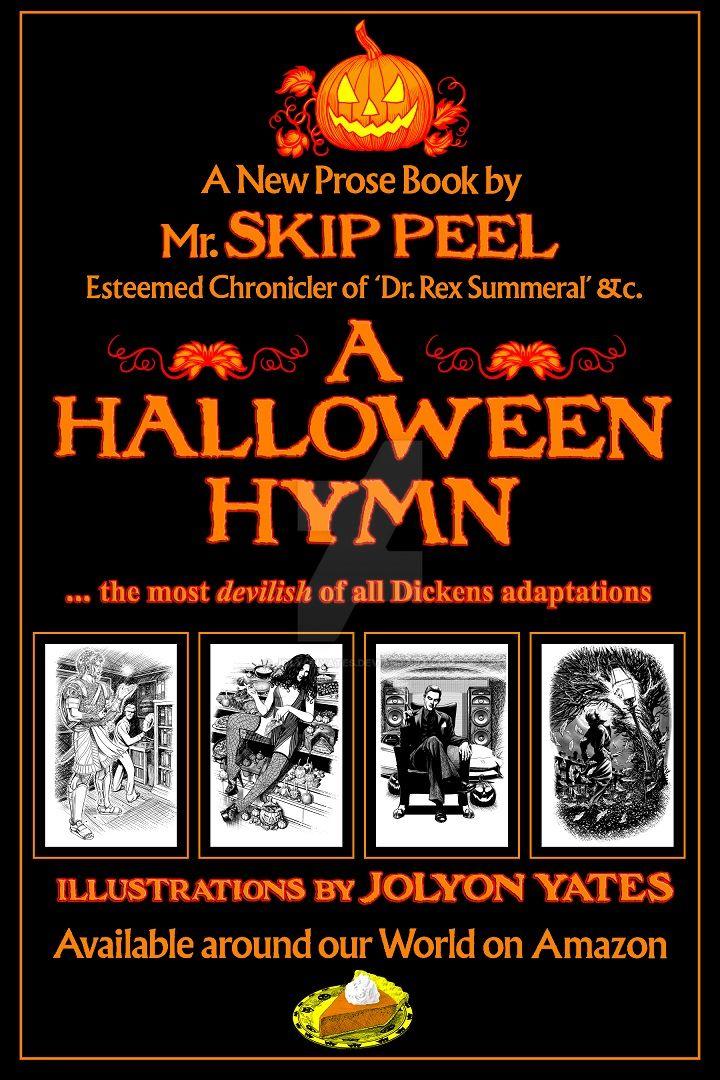 Print ad for 'A HALLOWEEN HYMN' by JolyonYates