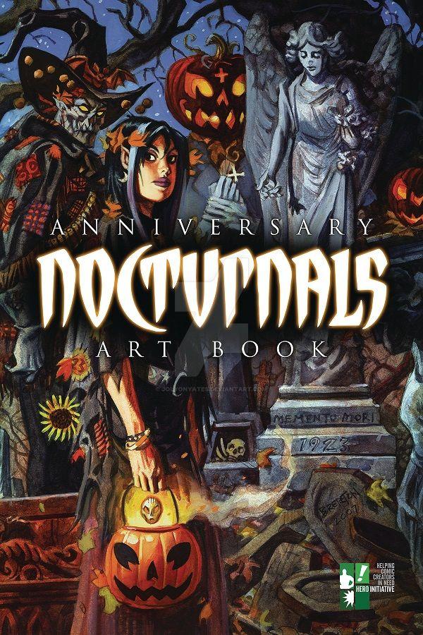 Nocturnals Anniversary Art Book by JolyonYates