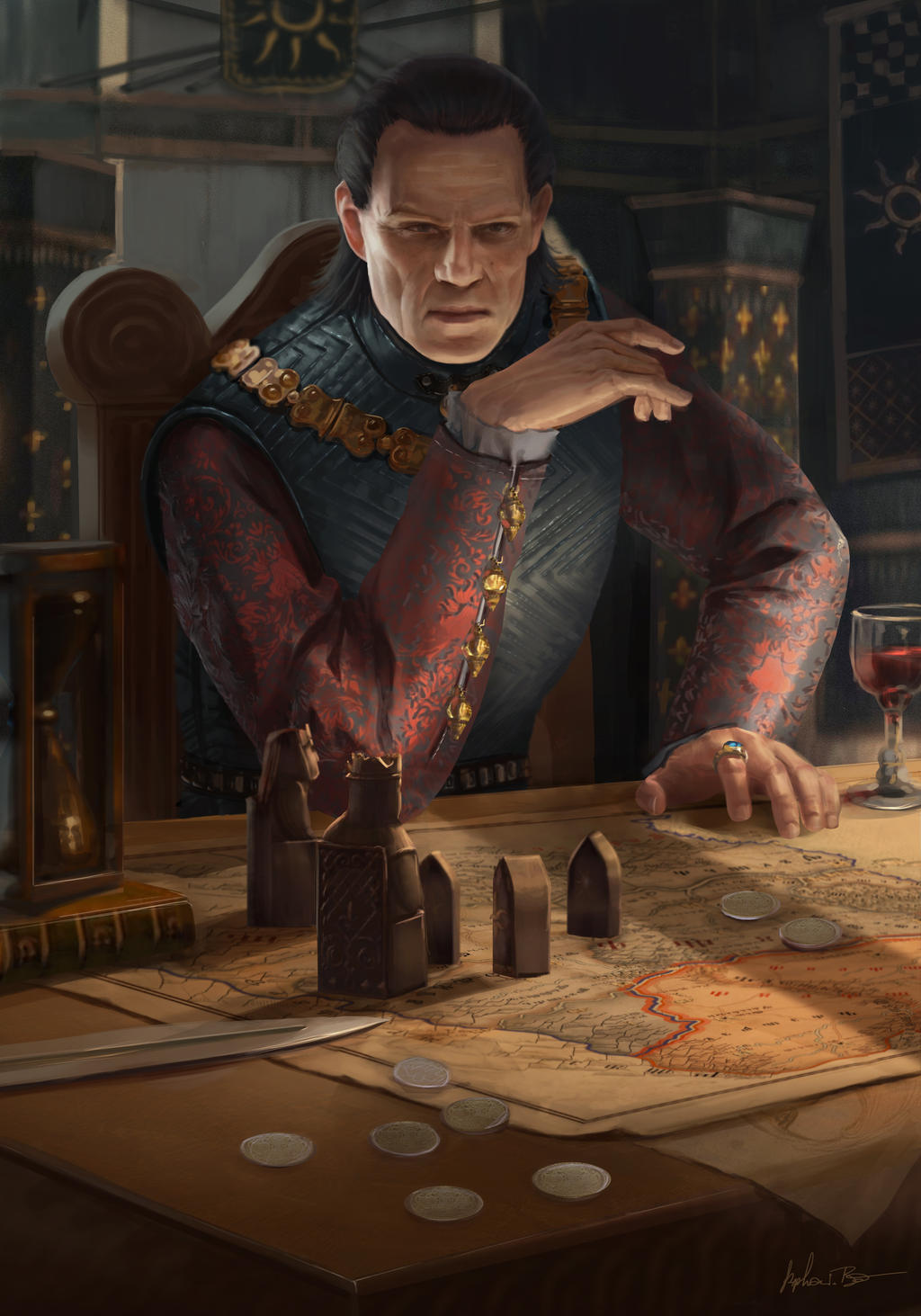 Art Merchant Paintings Witcher