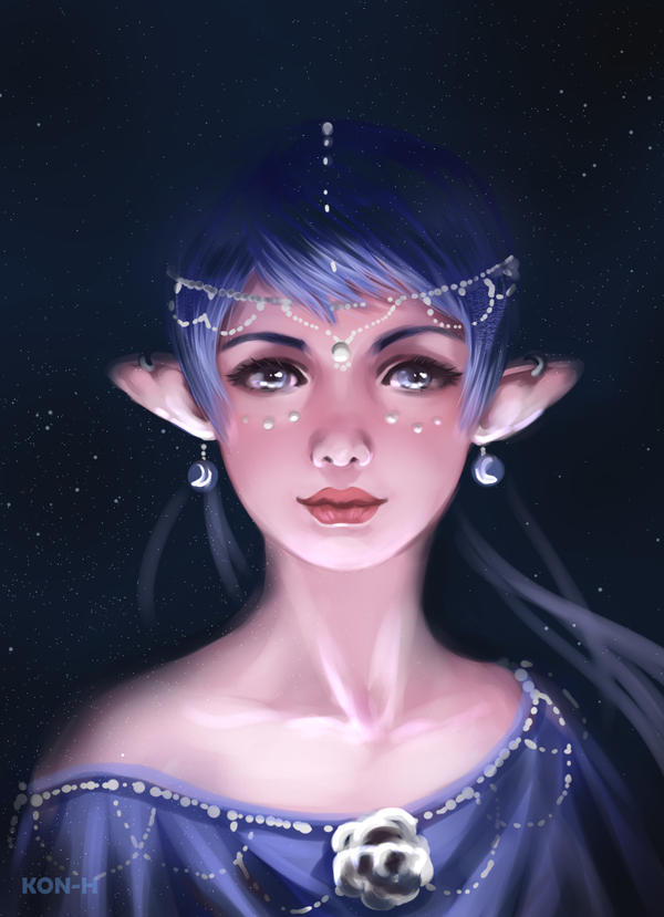 Stardust Elf by Kon-H