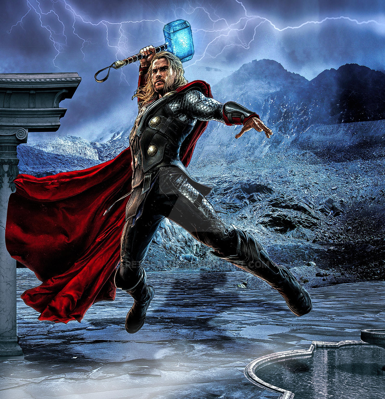 Thor - Reto Saluz by RetoSaluz