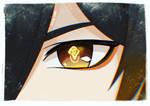 Anime Eyes Zhongli Genshin Impact