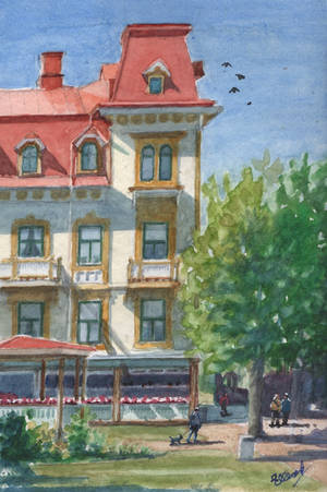 Grand Hotel.. by Henelb
