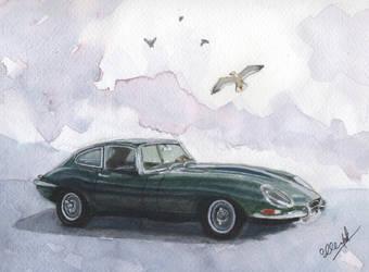 Jaguar E-type, Series 1, 4.2 l. by Henelb