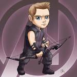 Chibi Avengers - Hawkeye