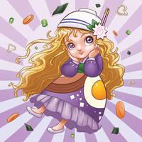FOOD card series : NOODLE by MymyArtzone