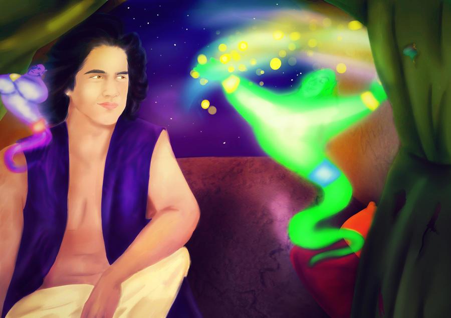 Aladdin by annogueras