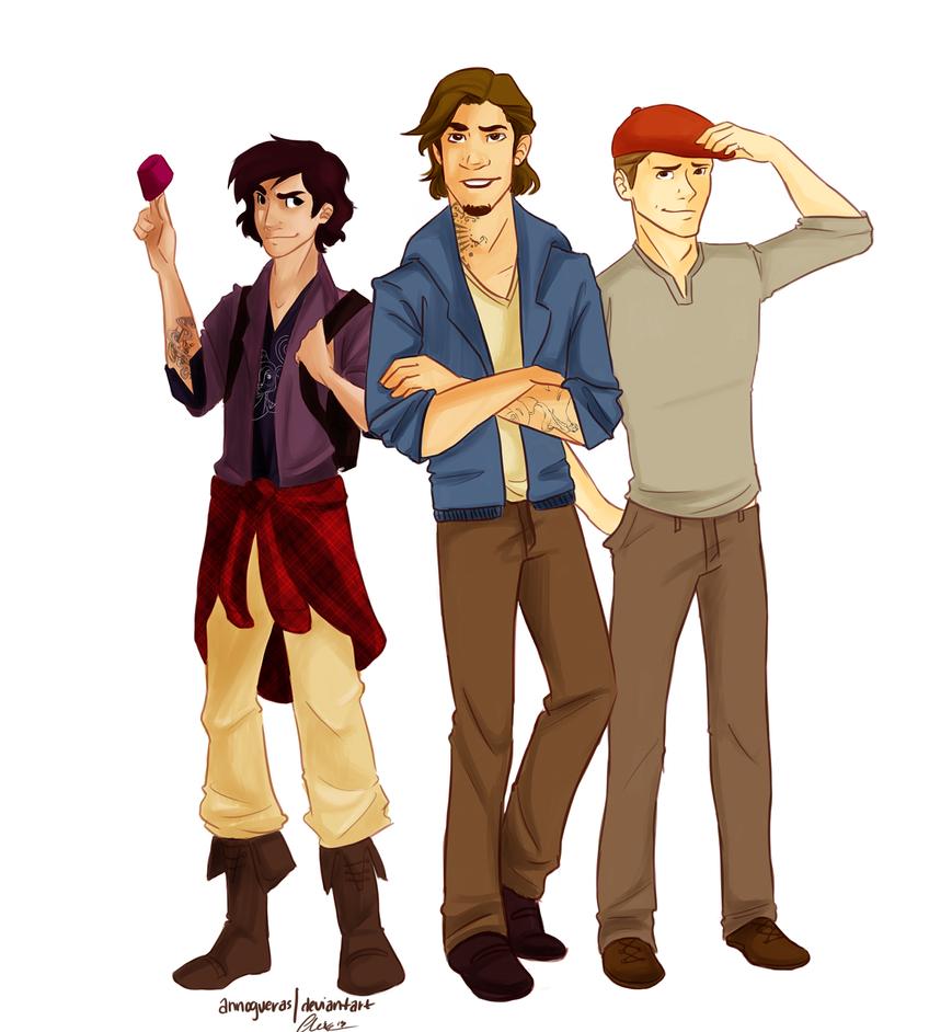 Disney Boys by annogueras on DeviantArt