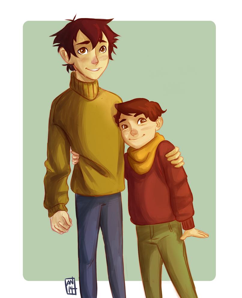 Cutest Bros by annogueras