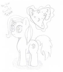 The Great and Powerful Trixie sketch