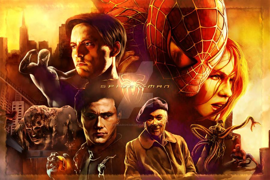 spiderman movie poster by Ragnarok026 on DeviantArt