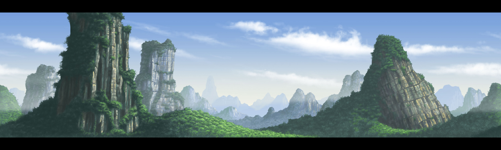 Chinese Landscape 01 by donjapy2011