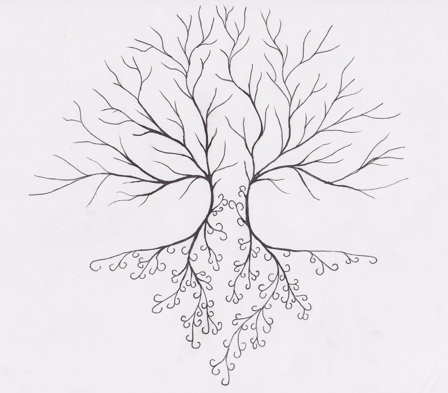 Tree without leaves by morso722 on DeviantArt