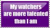 Watchers Stamp by CurlyHairedDemon