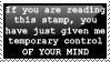 Mind Control Stamp by CurlyHairedDemon