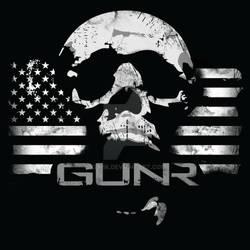 GUNR Screaming Skull