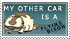 Flying Bison Stamp by MakeshiftShakedown