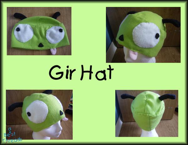 Gir Hat by jaken-rox
