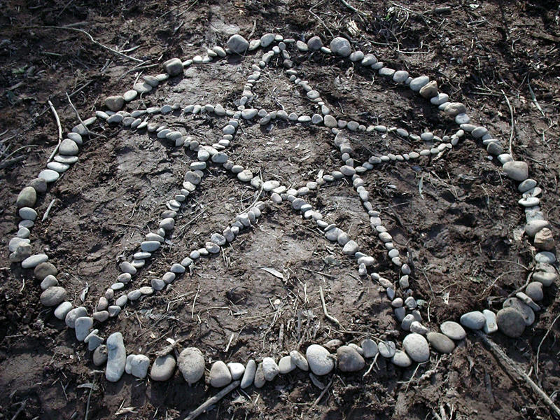 Rock Pentagram original by postaldude66