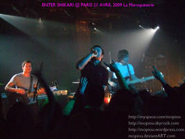 ENTER SHIKARI LIVE PARIS 2009 by mopiou