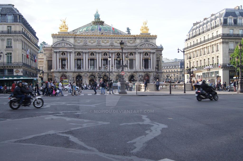 Opera Garnier Paris France by mopiou