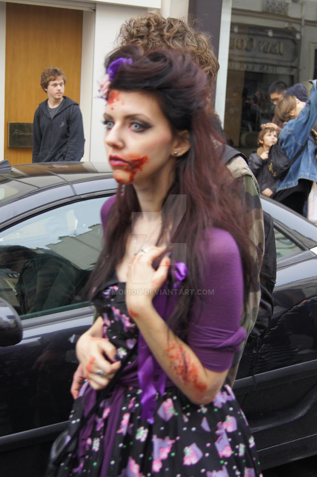 Zombie Walk Paris 2014 - Ebeyne - Novembre 8 by mopiou